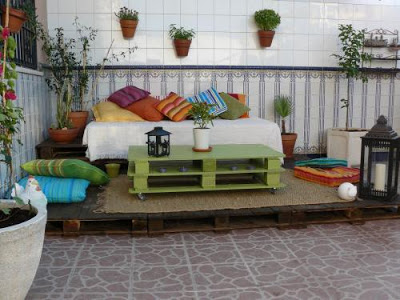 mesa chill out palet