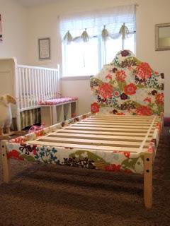 transformación de una cama de Ikea