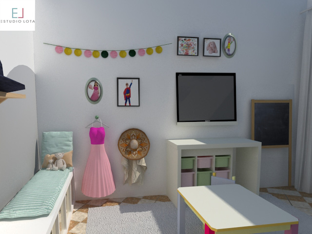 playroom niña niño