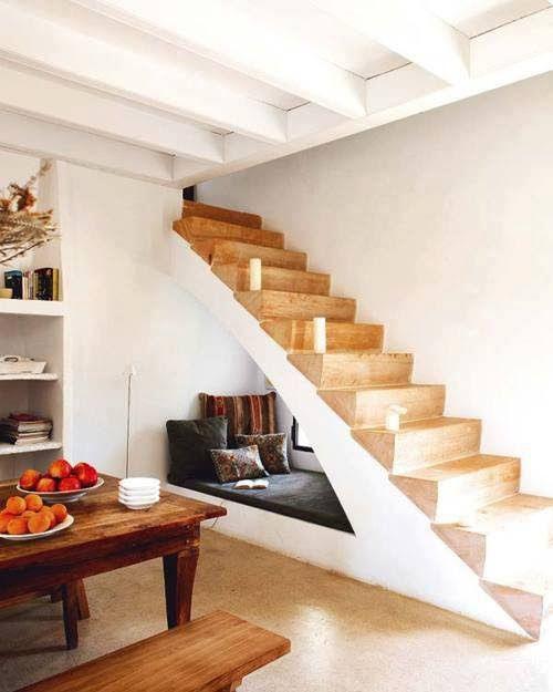 aprovechar el hueco de la escalera