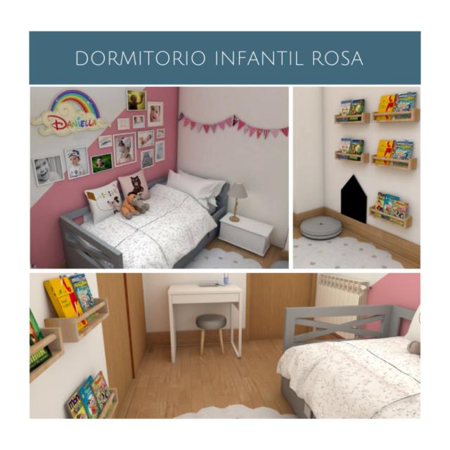 Proyecto de decoración online para un dormitorio compartido por dos hermanos