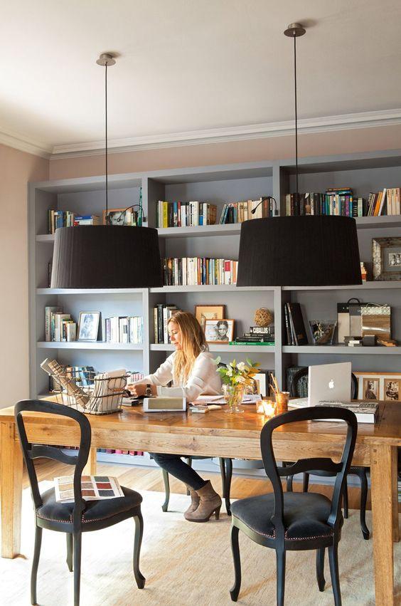 cómo crear un despacho cómodo y con estilo en casa
