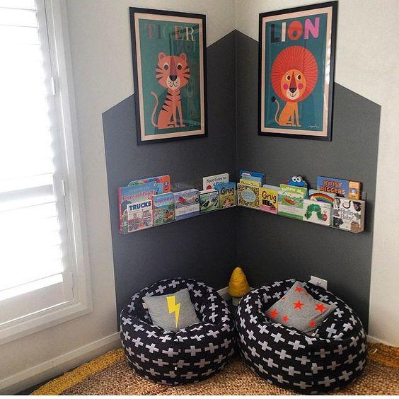 decorar un dormitorio infantil para un niño de 3-6 años