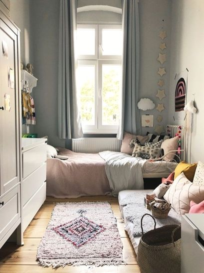 dormitorio infantil romántico para niña