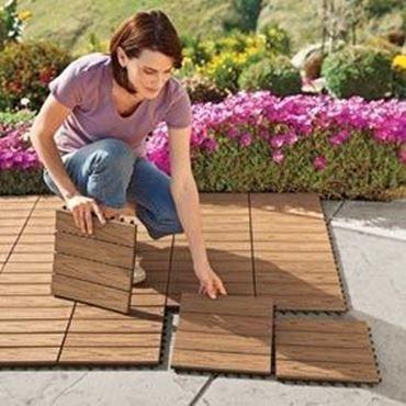suelo en click. solucion rápida y barata para cambiar el suelo de tu terraza