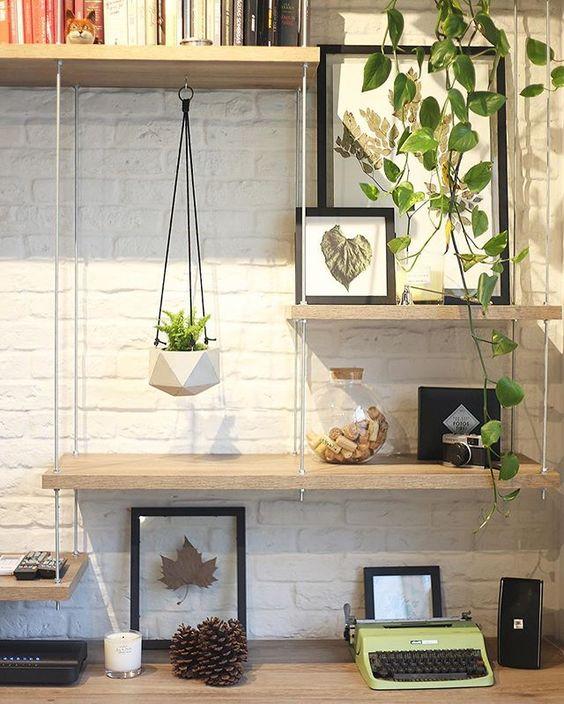 como mejorar tu oficina en casa con plantas
