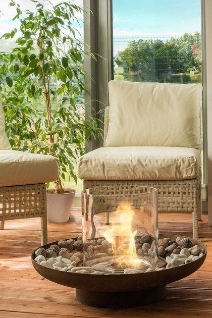ideas para decorar tu terraza este verano con chimeneas