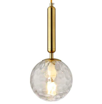 lámpara cristal para dormitorios