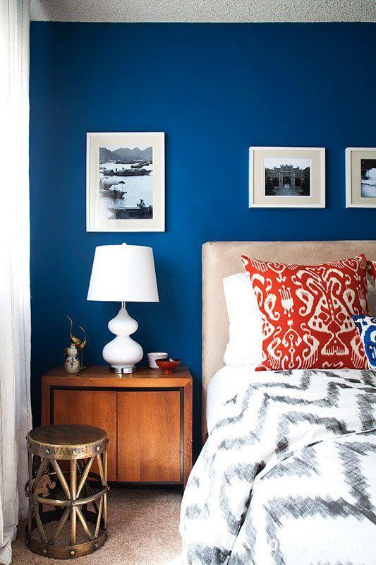 mezcla colores y texturas en dormitorio